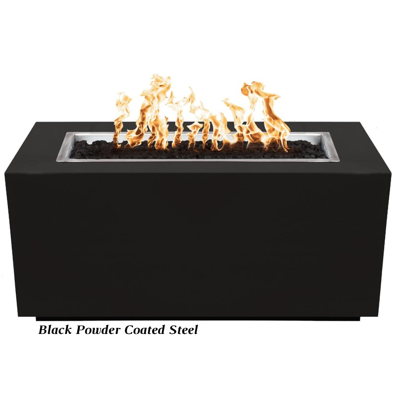 Pismo Propane or Natural Gas Powder Coated Steel Fire Pit